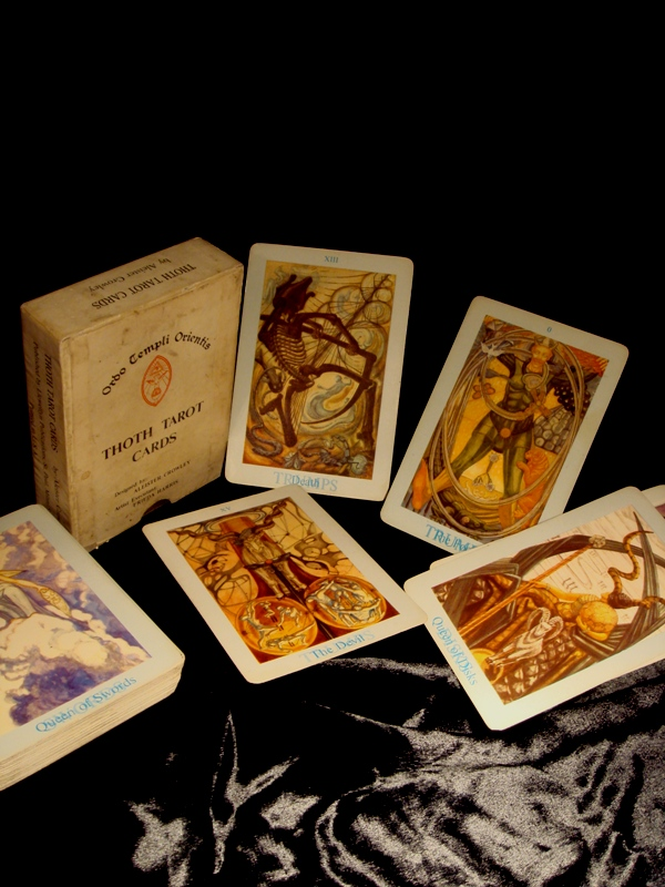 Original Old Deck Of Aleister Crowley Thoth Tarot Cards