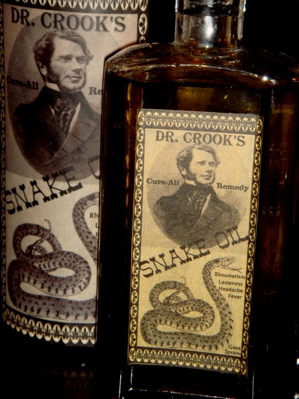 Old Bottles Cure All Remedy Snake Oil Priced Each