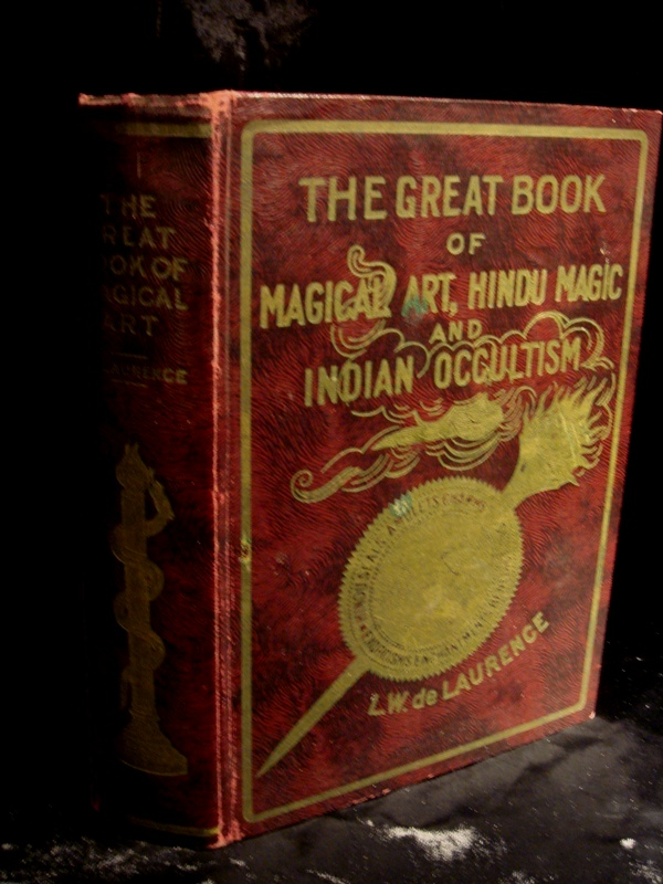 Rare Old Occult Book, The Great Book of Magical Art