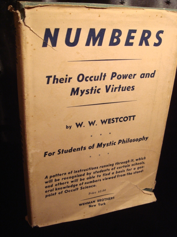 NUMBERS THEIR OCCULT POWERS and MYSTIC VIRTUES, Old Numerology Book