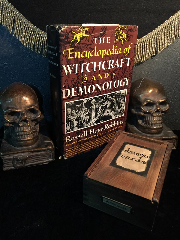 The Encyclopedia Of Witchcraft And Demonology Antique
