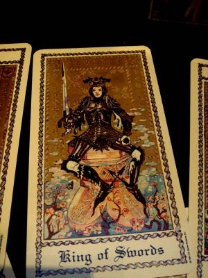 What Is Voodoo >> Medieval Scapini Tarot Cards